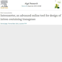 Algal Research, Volume 42